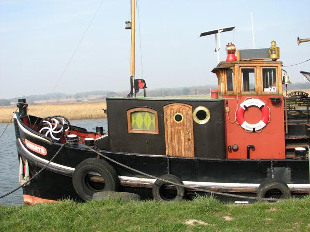 A historic Dutch tug