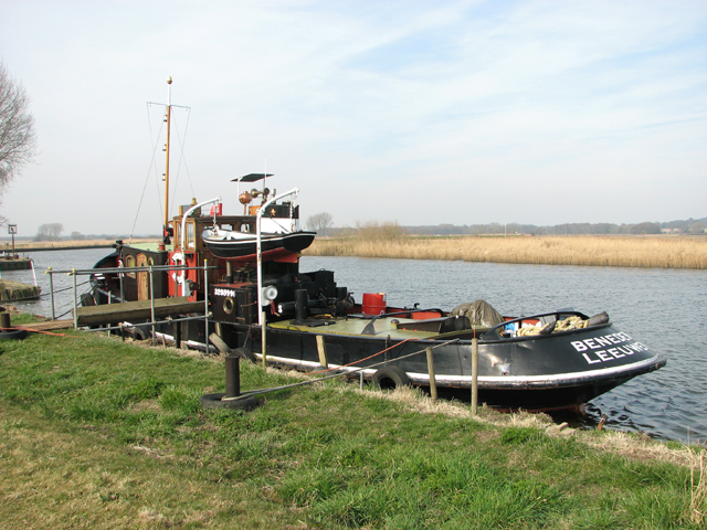 """The """"Liberté"""" on the River Yare"""
