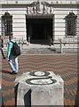 SP0686 : Entrance to Baskerville House, Centenary Square, Birmingham by Robin Stott