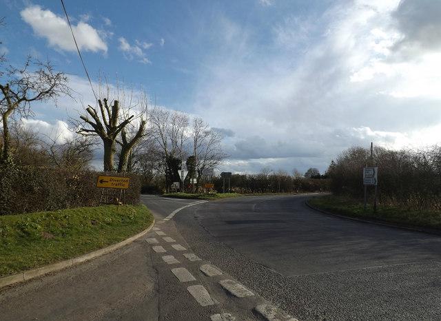 B1117 Laxfield Road, Ashfield Green