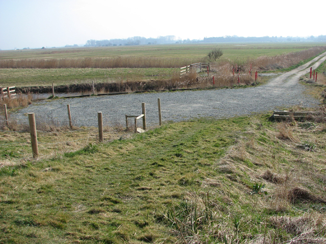 Car park for anglers