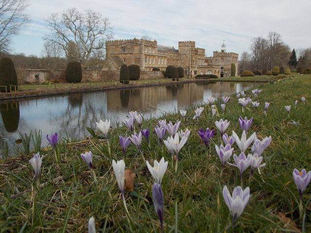 Forde Abbey: across the Long Pond