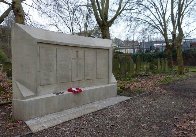 War Memorial, Key Hill Cemetery