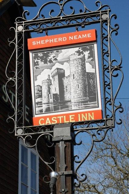 Castle Inn inn sign