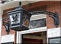 SP0488 : Black Eagle lantern by Rob Farrow