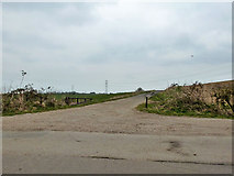 SU5557 : Public bridleway to A339 by Robin Webster