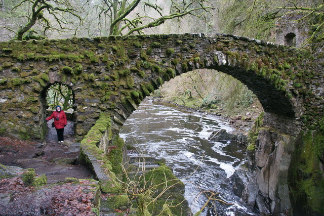 Bridge at the Hermitage, near Dunkeld