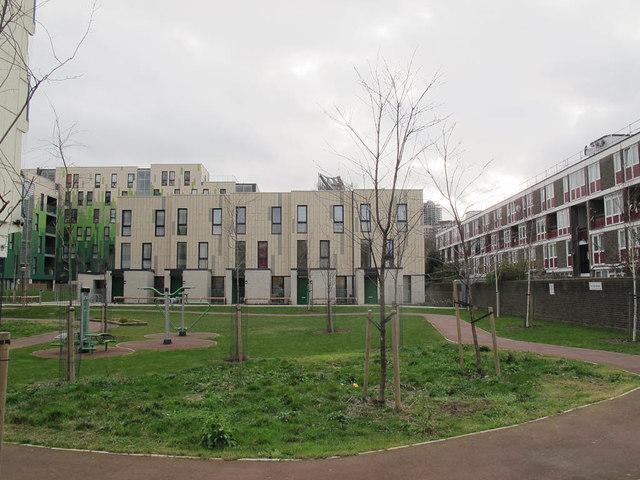 Exercise area, Deverell Street