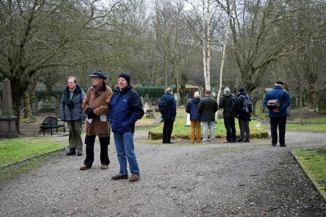 10th Anniversary Meet-up of Geographers - visiting Key Hill Cemetery, Birmingham