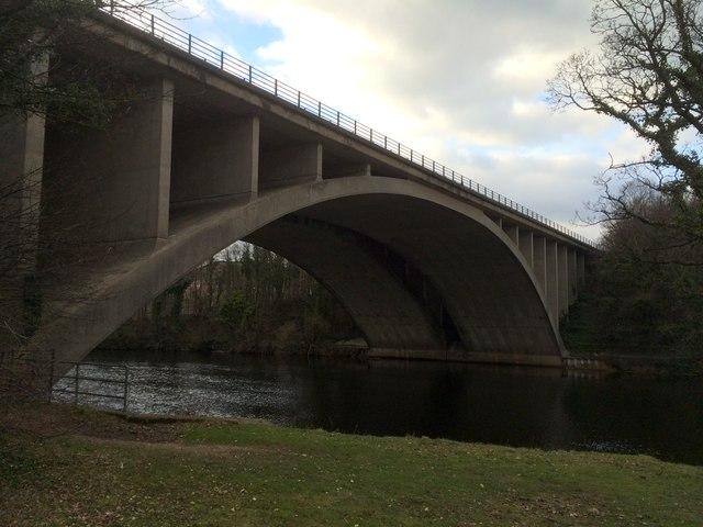 M6 bridge over the River Lune