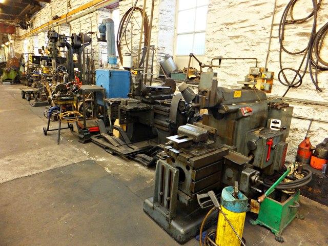 IOMSR Workshop machinery