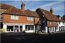 TQ7515 : Traditional town garage in Battle by Philip Halling
