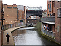 SP0687 : Birmingham & Fazeley Canal from Ludgate Hill by Chris Allen
