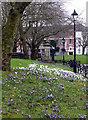 SP0687 : St Paul's churchyard - Birmingham by Chris Allen