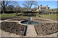 TQ6723 : Water feature in the Gardens of Bateman's by Philip Halling