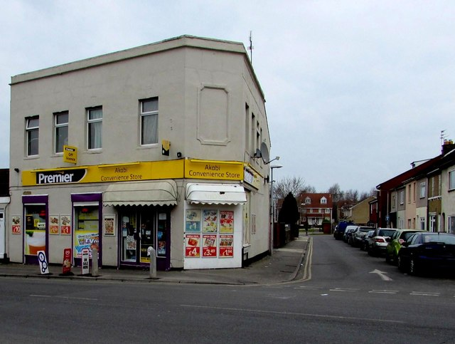 Akabi convenience store and off-licence, Swindon