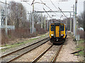 SJ5995 : Eastern view from Newton le Willows station by William Starkey