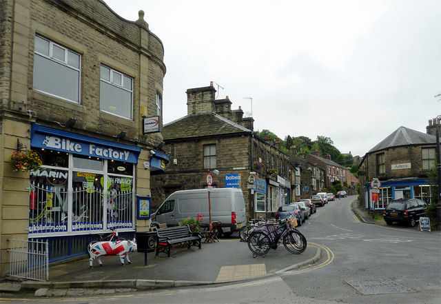 The Bike Factory And Old Road In Whaley C Roger Kidd
