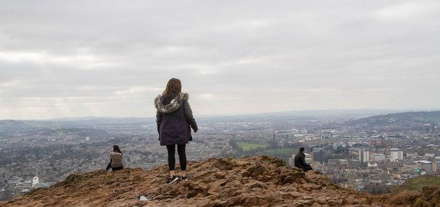 Contemplating Edinburgh