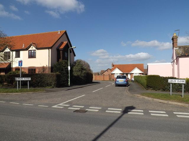 Jubilee Close, Laxfield
