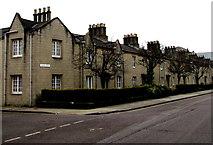 SU1484 : London Street chimneys, Swindon by Jaggery