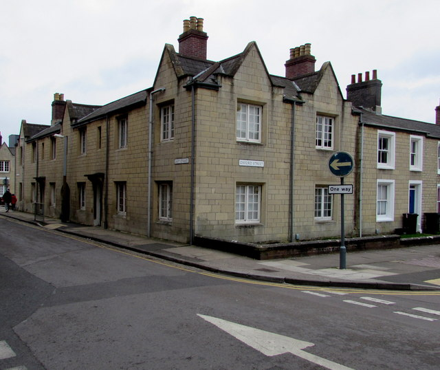 Corner of Oxford Street and East Street, Swindon