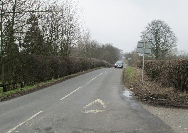 Tarn Lane - viewed from Brandon Lane