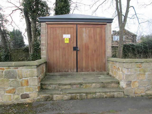 Electricity Substation No 3885 - Scarcroft House - Wetherby Road