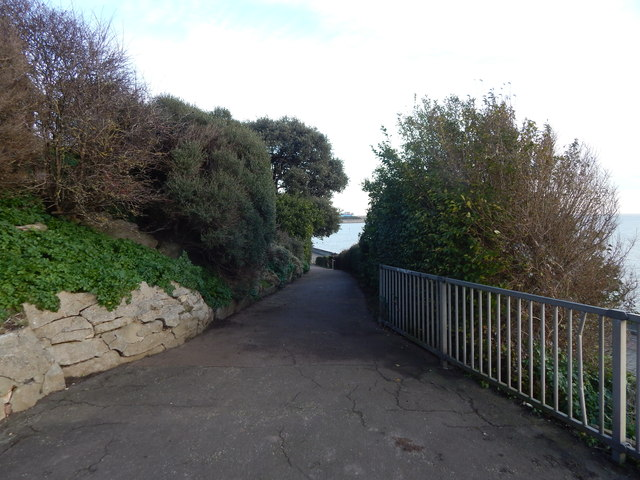Path towards town centre