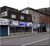 SU1484 : Holmes Music shop in Swindon by Jaggery