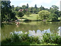 TQ4551 : The Lower Lake at Chartwell by David Hillas