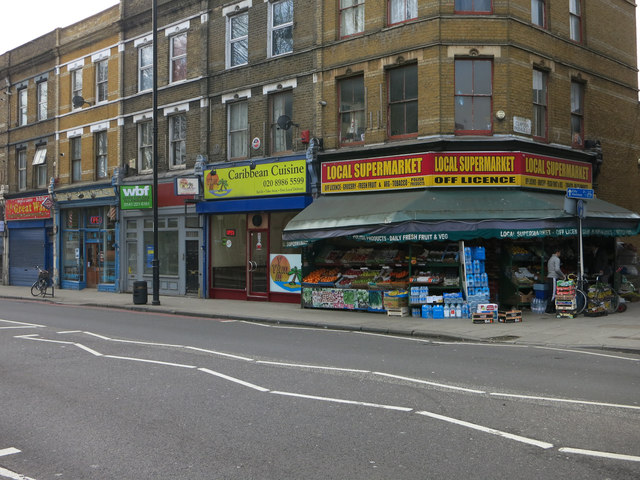 Local Supermarket, Lower Clapton Road