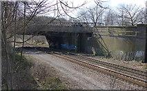 SK5802 : Welford Road bridge by Mat Fascione