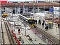 SJ8499 : Metrolink Expansion at Victoria Station by David Dixon