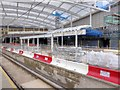 SJ8499 : Construction of Second Metrolink Platform, Victoria Station by David Dixon