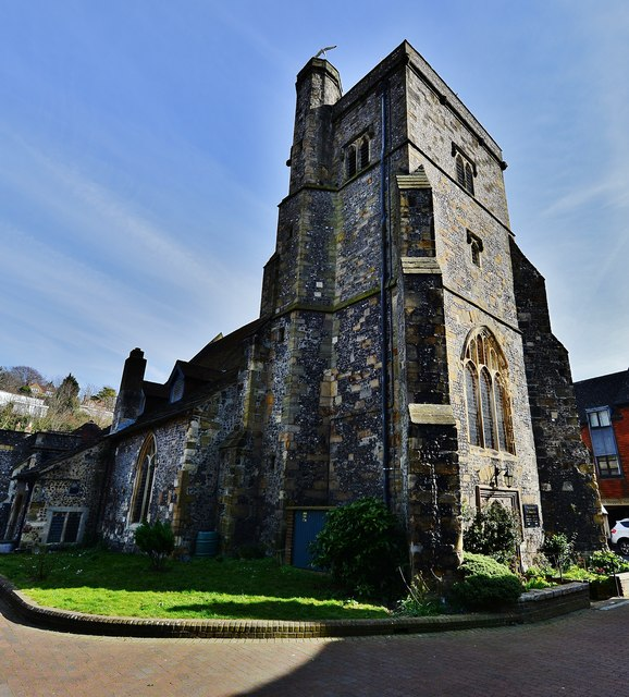 Lewes: The church of St Thomas a Becket