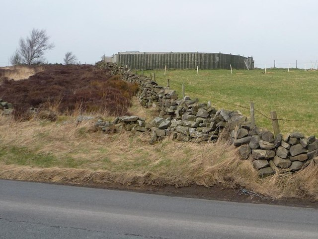 Change in use boundary, Weston Moor