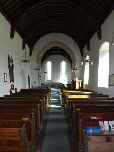 Inside St.Mary's Church