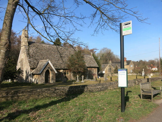 St Lawrence's Church Bus Stop