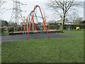 SE0520 : Play Area - Scammonden Road by Betty Longbottom