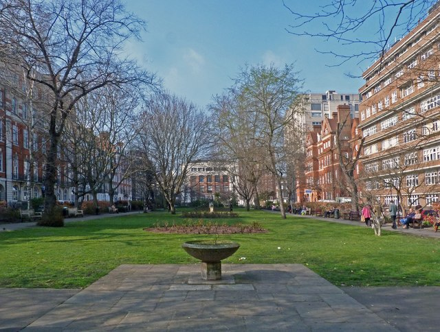 Queen Square Gardens, London WC1