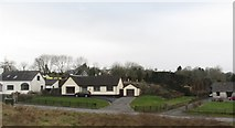 J3655 : Houses on the Old Belfast Road north of Ballynahinch by Eric Jones