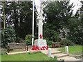 TM2483 : The War Memorial at Harleston by Adrian S Pye