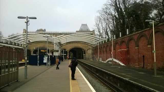 Crystal Palace station: constructing a train-shed