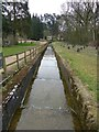SP8365 : Sywell Reservoir - Overflow Cascade (2) Mid section by Rob Farrow