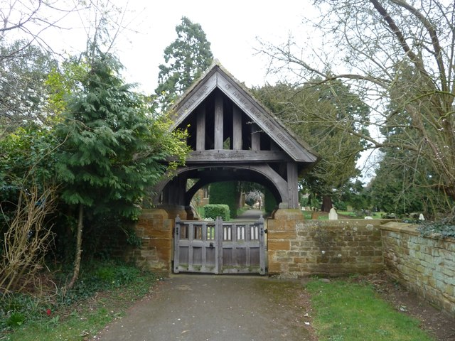 Duston - St Luke's lychgate