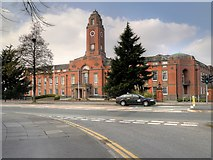 SJ8195 : Stretford (Trafford) Town Hall by David Dixon