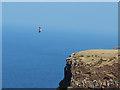 NG2364 : Sea Eagle above the Waternish cliffs by John Allan