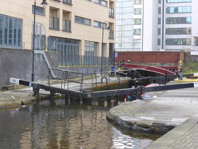Rochdale Canal, lock No. 84