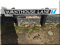 TM2281 : Burnthouse Lane sign by Adrian Cable